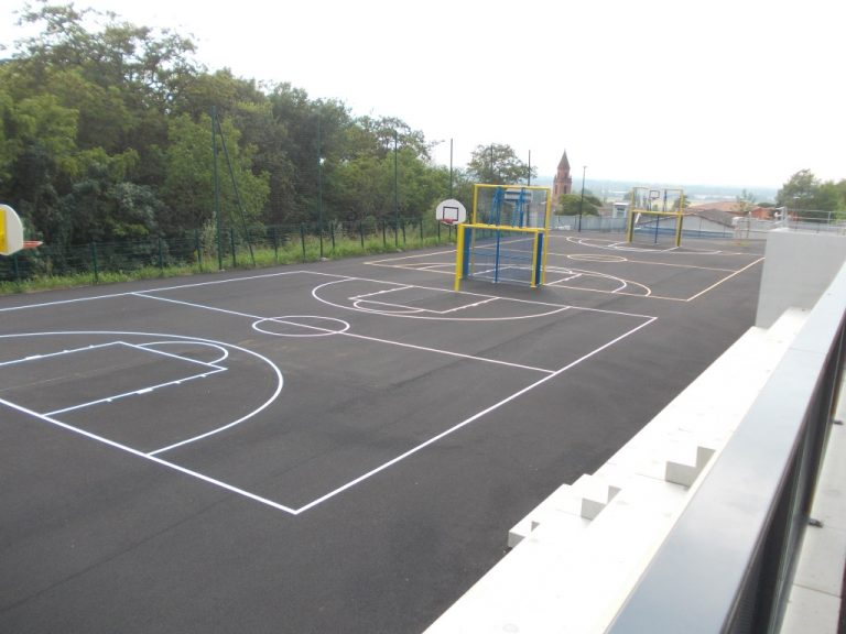 marquages extérieurs jeux et terrains de sport